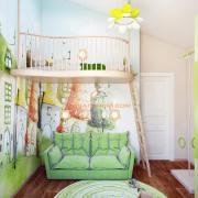 Детская комната с балкончиком