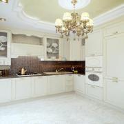Кухня сливочного цвета Комфорт Таун