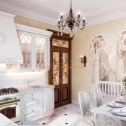 Белая кухня классика. Бровары