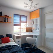 Дизайн маленькой подростковой комнаты
