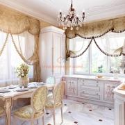 Интерьер кухни в классическом стиле. Бровары