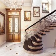 Лестница с витыми перилами. Бровары