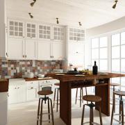 Панорамные окна на кухне