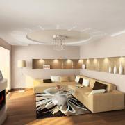 Современный дизайн гостиной Киев