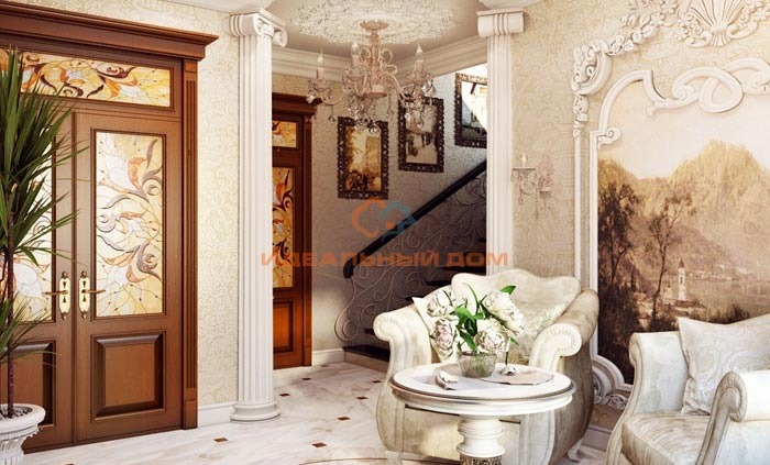 Холл в классическом стиле. Бровары