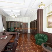Дизайн интерьера кабинет президента компании Киев