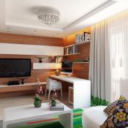 Дизайн интерьера комнаты подростка, Киев