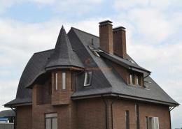 Дом-замок в Киевской области