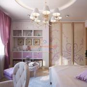 Интерьер детской комнаты с элементами ар-деко