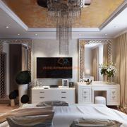 Интерьер спальни, Киев
