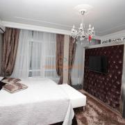 Интерьер спальни в шоколадных оттенках Киев