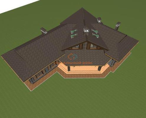 Проект дома в Горбовичах