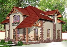 Проект частного дома, Плюты