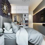Спальня с элементами арт деко