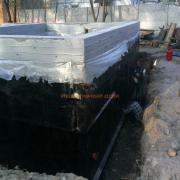 Строительство и гидроизоляция фундамента