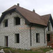 Строительство коттеджа Ирпень