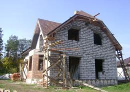 Строительство частного дома в Ирпене