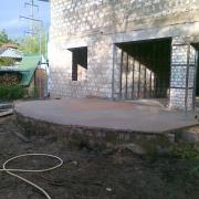 Фундамент для закрытой террасы
