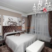 Элитный ремонт спальни Киев, ул.Шамрыло