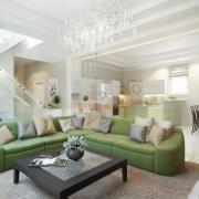 Дизайн интерьера гостиной студио