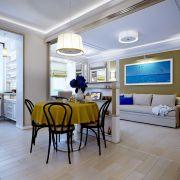 Дизайн гостиной студио