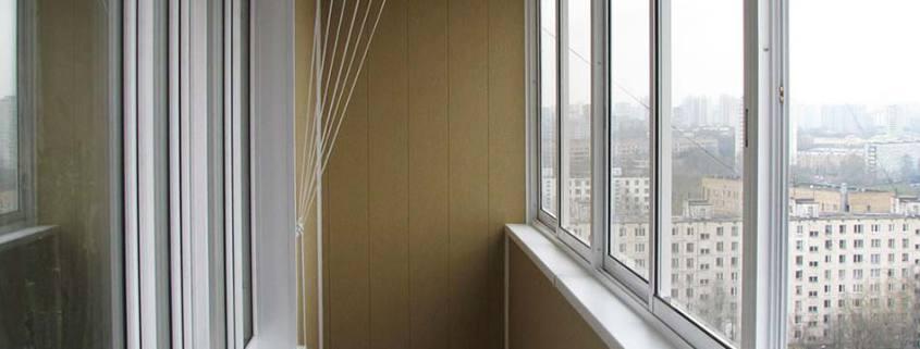 ремонт балкона на фото