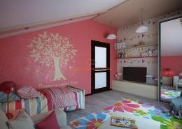 Веселый интерьер детской комнаты